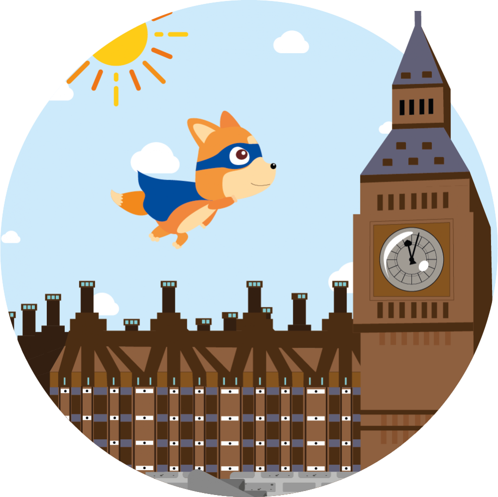 English app for children